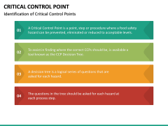 Critical Control Point PPT Slide 20