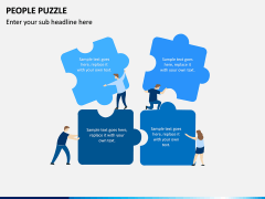 People Puzzle PPT Slide 7