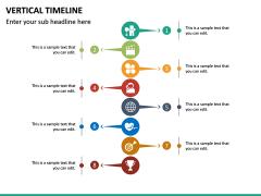 Vertical Timeline PPT Slide 25