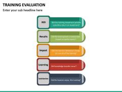 Training Evaluation PPT Slide 21