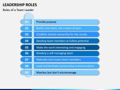 Leadership Roles PPT Slide 5
