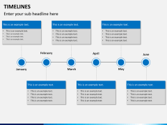 Timeline bundle PPT slide 8