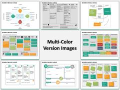 Business model canvas PPT slide MC Combined