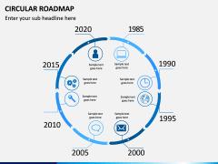 Circular Roadmap PPT Slide 2