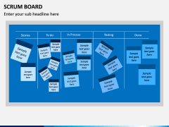 SCRUM Board PPT Slide 5