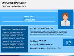 Employee Spotlight PPT Slide 10