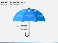 Umbrella Infographics PPT Slide 7