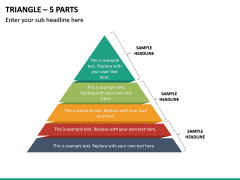 Triangle – 5 Parts PPT Slide 2