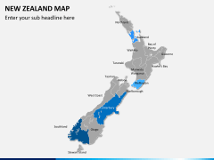 New zealand map PPT slide 7