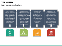 TITE Matrix PPT Slide 12
