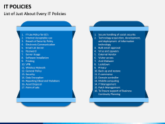 IT Policies PPT Slide 13