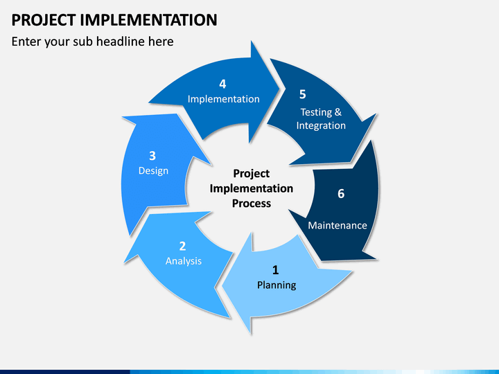 Project Implementation PowerPoint Template | SketchBubble