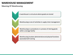 Warehouse Management PPT slide 17