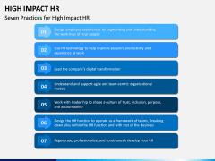 High Impact HR PPT Slide 5