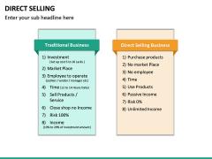 Direct Selling PPT Slide 30