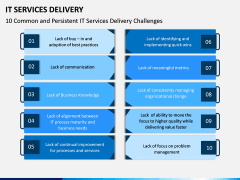 IT Service Delivery PPT Slide 13