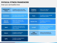 Physical Fitness Framework PPT Slide 13
