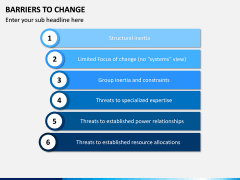 Barriers to Change PPT slide 8