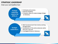 Strategic Leadership PPT Slide 2