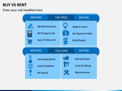 Buy Vs Rent PPT Slide 1