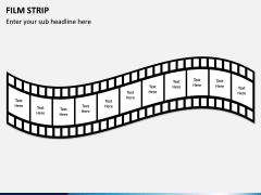 Film Strip PPT Slide 7