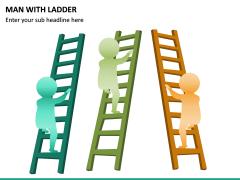 Man with Ladder PPT Slide 5