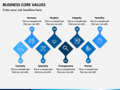 Business Core Values PPT Slide 10