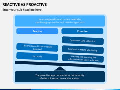 Reactive Proactive PPT Slide 4