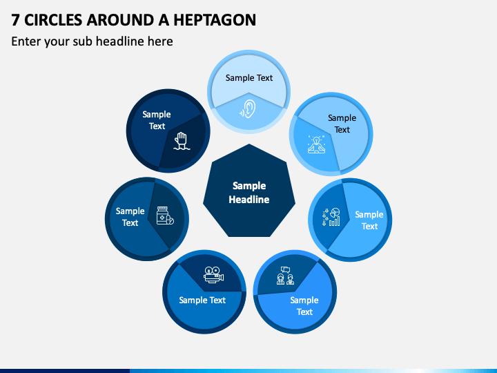 7 Circles Around a Heptagon PPT slide 1