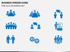 Business Person Icons PPT Slide 9