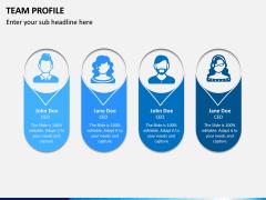 Team Profile PPT Slide 2