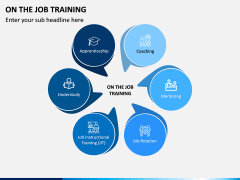 On the Job Training PPT Slide 3