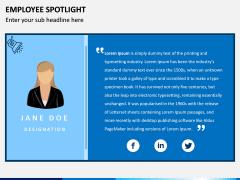 Employee Spotlight PPT Slide 17