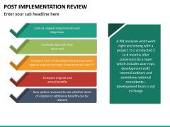 Post Implementation Review PPT Slide 18