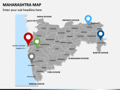 Maharashtra Map PPT Slide 3