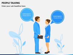 People Talking PPT Slide 7