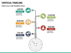 Vertical Timeline PPT Slide 21
