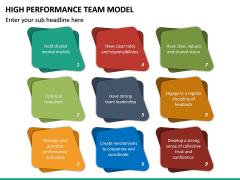High Performance Team Model PPT Slide 33