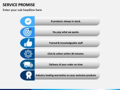 Service Promise PPT slide 3