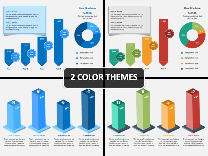 Revenue Projection Infographics PPT Cover Slide