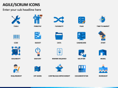 Agile SCRUM Icons PPT Slide 2