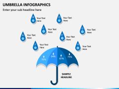 Umbrella Infographics PPT Slide 10