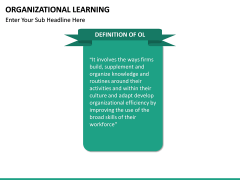 Organizational Learning PPT Slide 17
