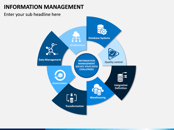 Information Management Powerpoint Template