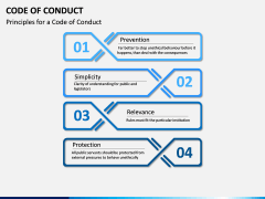 Code of Conduct PPT slide 13
