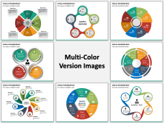 Circle Infographics PPT slide MC combined