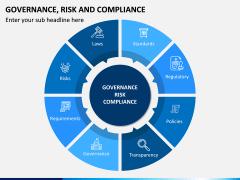 Governance, Risk and Compliance PPT Slide 1