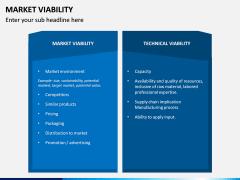 Market Viability PPT Slide 8
