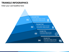 Triangle Infographics PPT Slide 6
