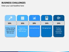 Business Challenges PPT Slide 11